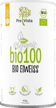 Bio100 Bio Eiweiss Vanille Honig
