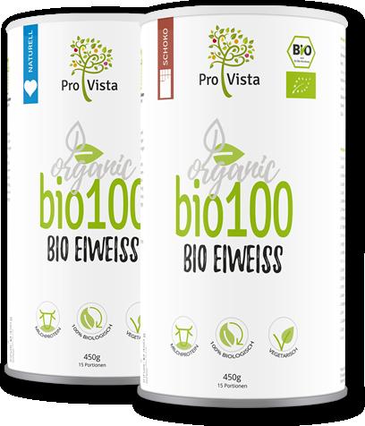 Zwei Dosen bio100